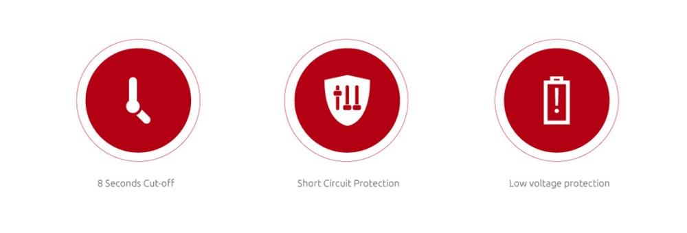 Multiple Protections of SMOK NOVO Kit