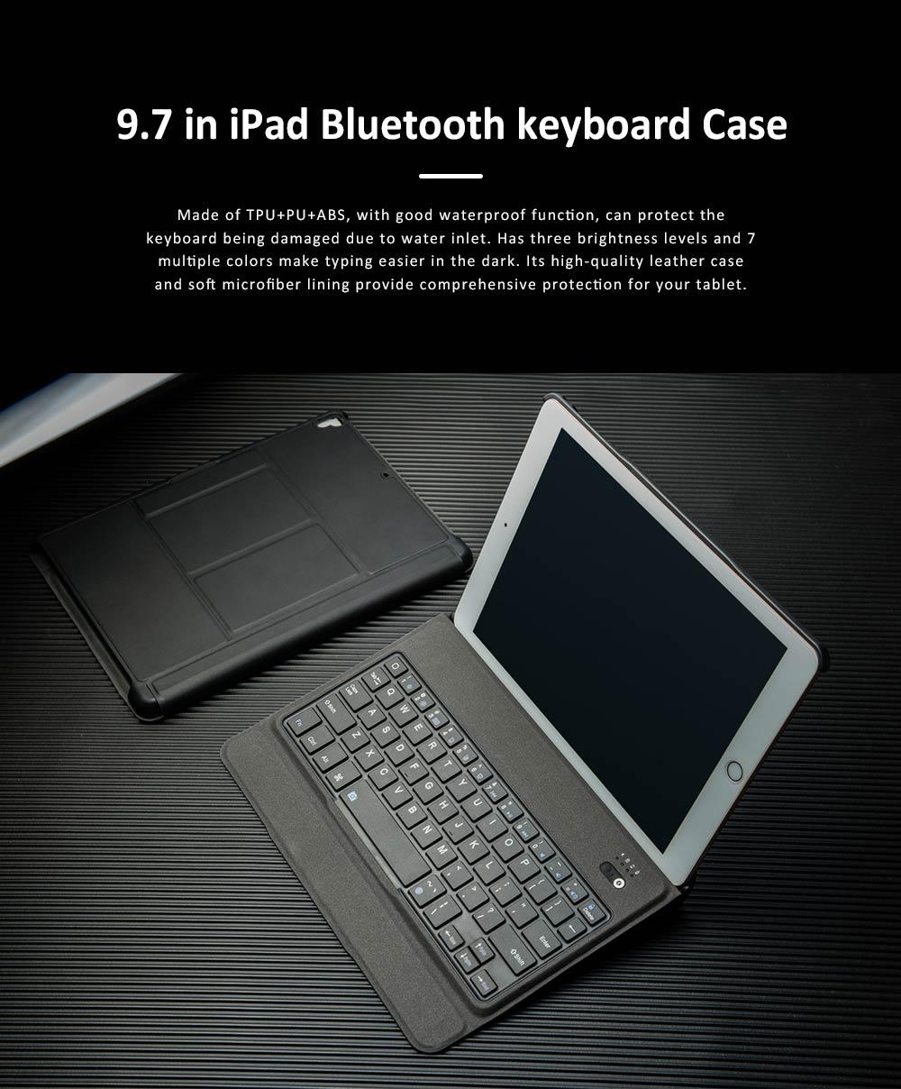 bluetooth keyboard magnetic flip