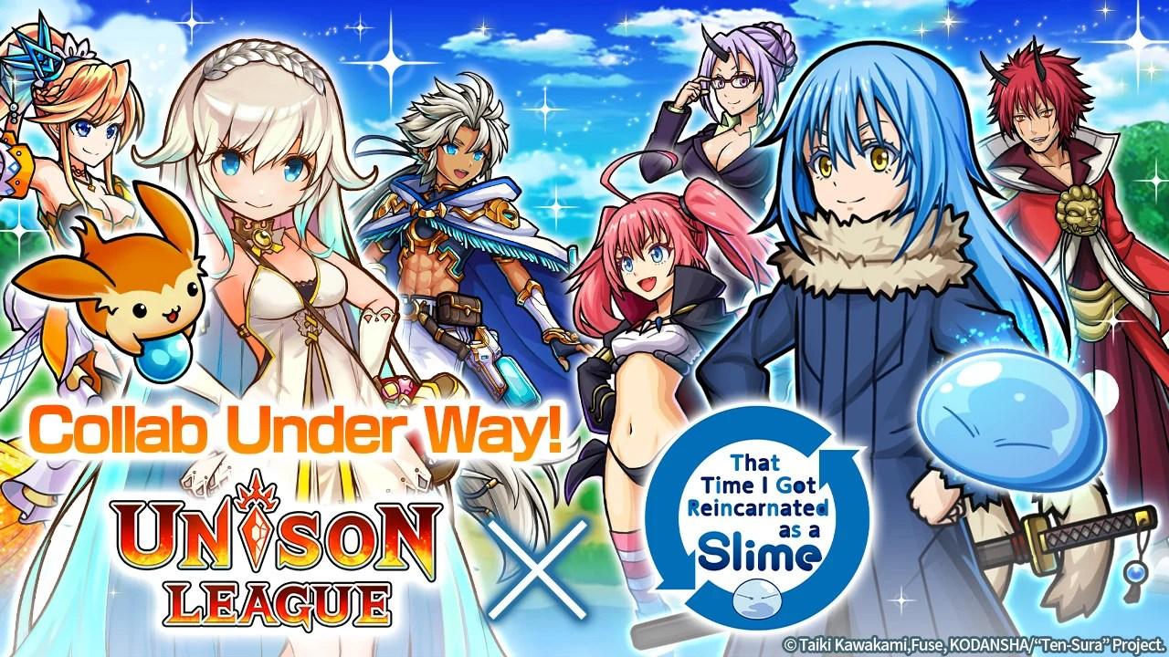 To revisit this article, select my account, thenview saved stories by christine m. Unison League Collaboration With Popular Anime That Time I Got Reincarnated As A Slime Begins Guaranteed Slime Rimuru With A Powerful Skill From Login Bonuses Ateam Inc