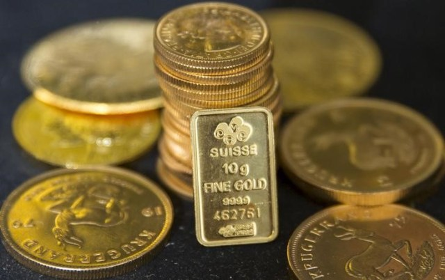 © Reuters.  黃金亞盤:期金站上1850美元 美元連續第三個交易日下跌