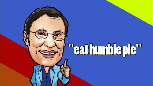 又中又英 : ˝eat humble pie˝ | 頭條PopNews