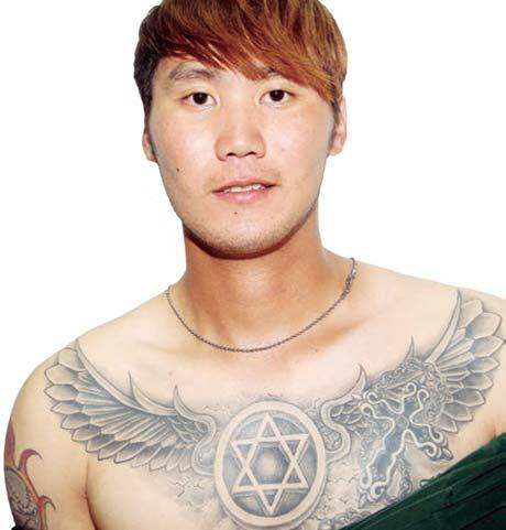棒球魂在刺青 郭泓志的親情印記 | Pubu 電子書城