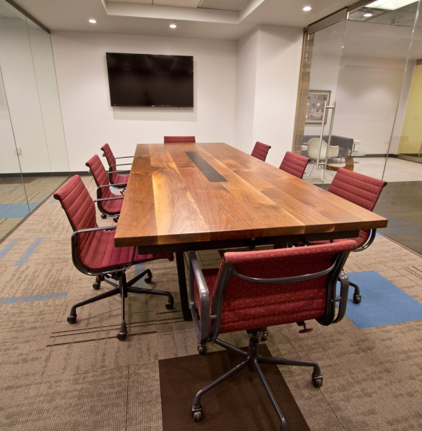 Missionstaff - Conference Room Table Resawn Timber