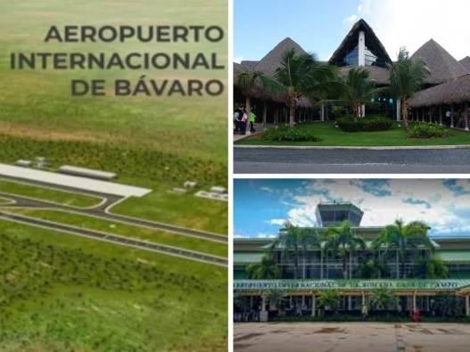Los tres aeropuertos que tendrá el este.