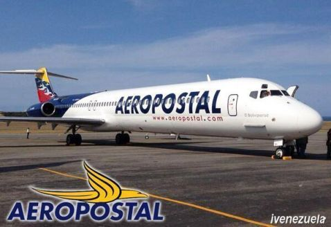 Aeropostal-avion noti occidente