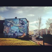 LeDroit Park Mural December 2012