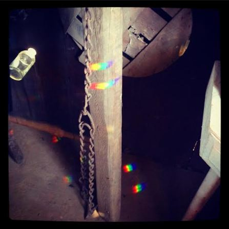 rainbows on beam
