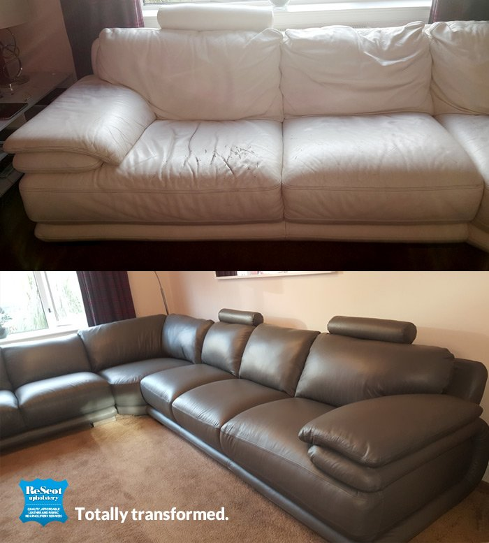sofas recovered glasgow. Black Bedroom Furniture Sets. Home Design Ideas