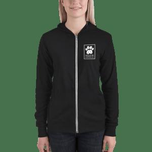 rescue me zip hoodie unisex