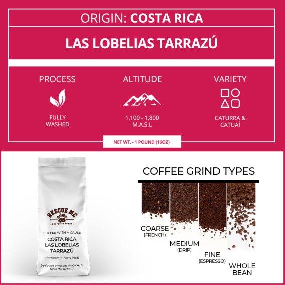 Costa Rica Single Origin Coffee
