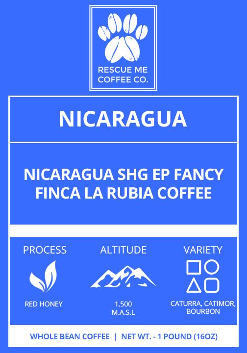 Nicaragua Coffee - Rescue Me Coffee Co.