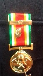 Médaille d'ancienneté des 40 ans