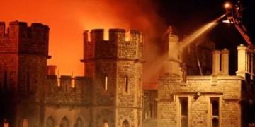 incendie chateau de Windsor