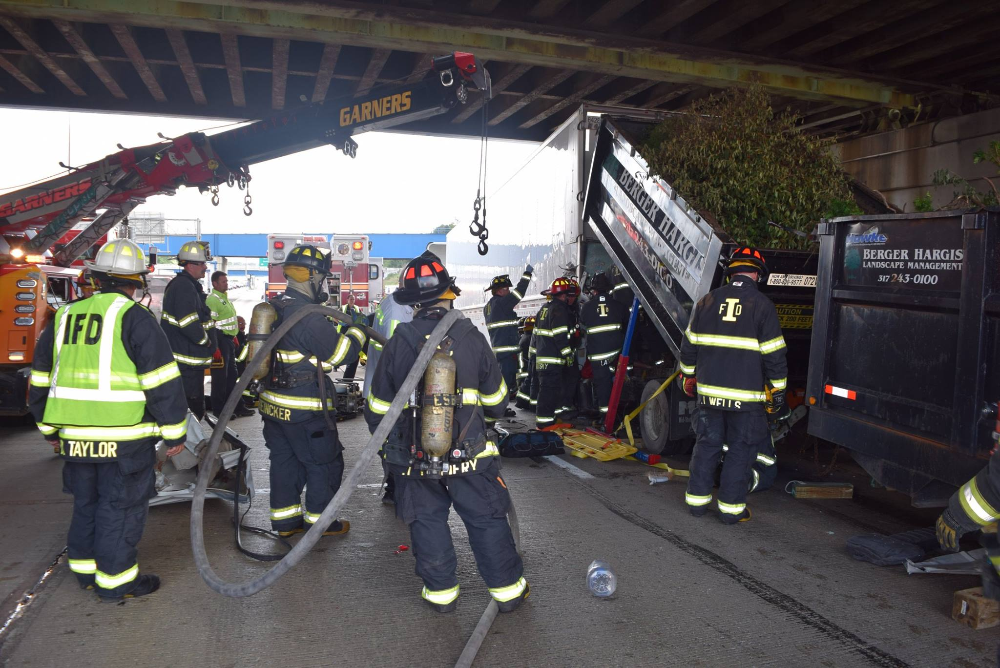 Dump Truck Hits Semi
