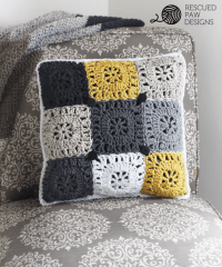 Crochet Pillow Pattern - Crochet Pillow Cover Pattern