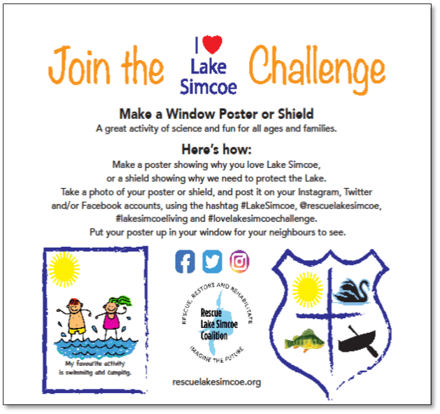 Join the I Heart Lake Simcoe Challenge