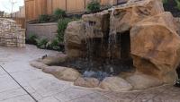 Custom pool waterfalls, water features, ponds & backyard ...