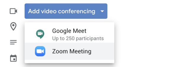 How to automatically add a Zoom link to a Google Calendar event