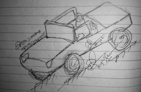 mECHsCINOVATE, Rajiv. S, Car design 6.