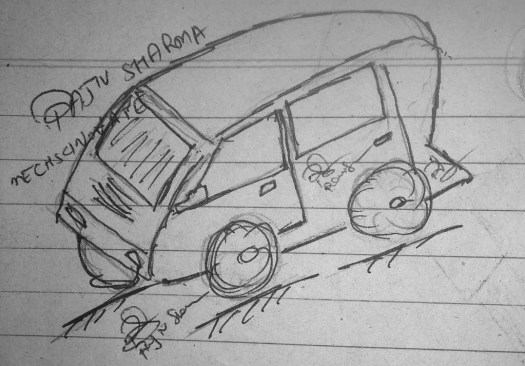 mECHsCINOVATE, Rajiv. S, Car Design 5