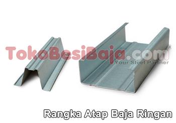 jenis produk baja ringan jual daftar harga terbaru rangka atap toko