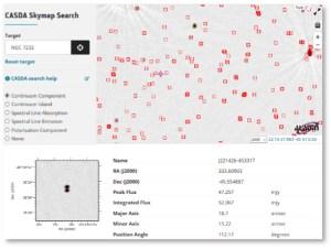 CASDA Skymap Search
