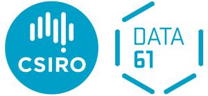 CSIRO and Data61 logos