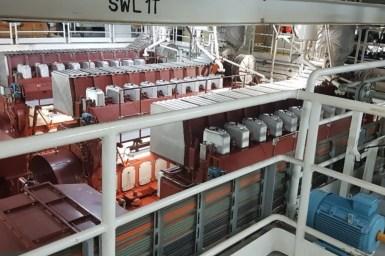 overvew of engine room