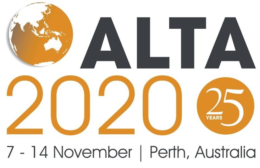 Text - Alta 2020 7 - 14 Novemeber Perth Australia