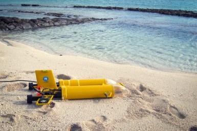 Starbug, our autonomous underwater vehicle