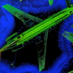 A 3D scan of a Boeing 727 at Aviation Australia in Brisbane