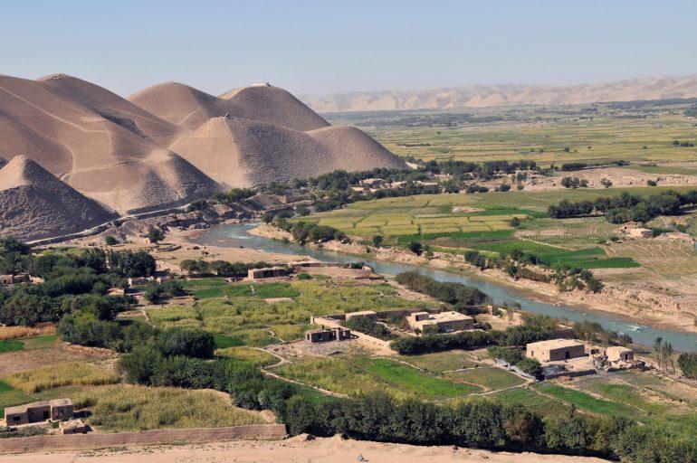Agricultural village west Afghanistan