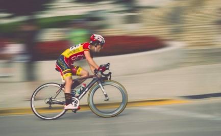 Elite cyclist