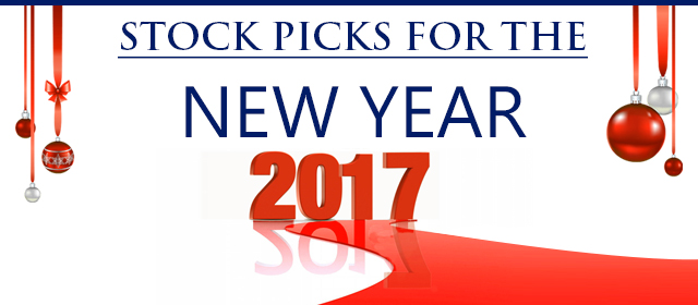 stock picks of the new year 2017