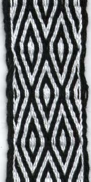 First Tablet Weaving: Double Diamonds