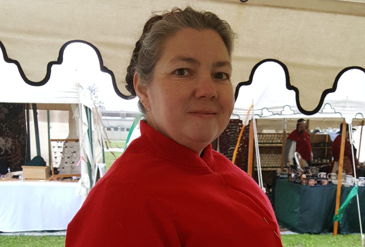 Red Wool Antwerpen Jacket
