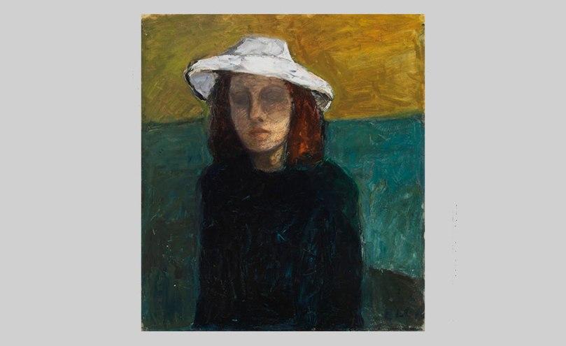 Elga Sesemann, Self-Portrait, 1946, oil on cardboard, 77cm x 68cm Finnish National Gallery / Ateneum Art Museum Photo: Finnish National Gallery / Yehia Eweis