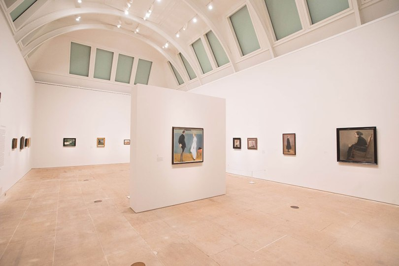 Installation view of the 'Helene Schjerfbeck' exhibition at the Royal Academy of Arts, London, 20 July – 27 October, 2019 Photo: David Parry