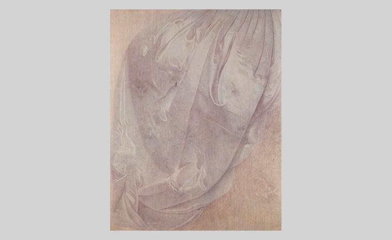 Susanne Gottberg: Object, 2013–14, oil and colour pencil on wood, 122cm x 86cm. Finnish National Gallery / Museum of Contemporary Art Kiasma Photo: Finnish National Gallery / Petri Virtanen