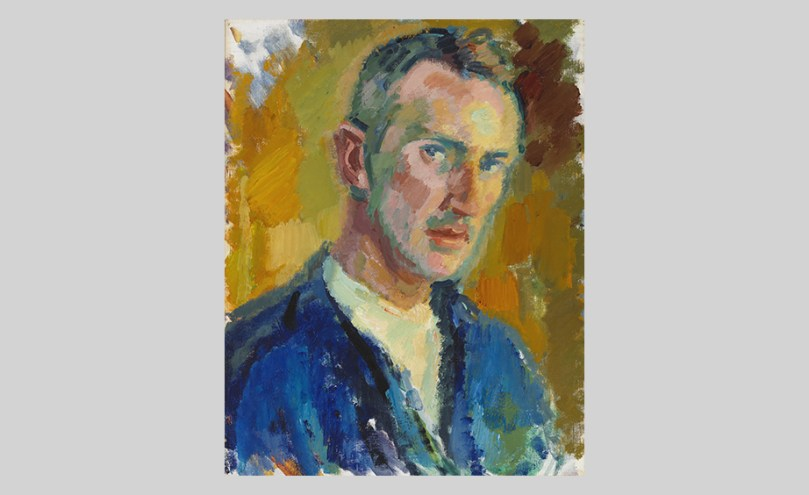 Magnus Enckell, Self-Portrait, 1918, oil on canvas, 42cm x 33.5cm Finnish National Gallery / Ateneum Art Museum Photo: Finnish National Gallery / Hannu Pakarinen
