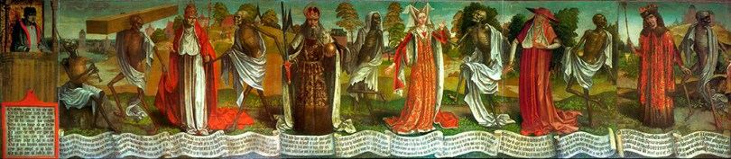 Featured image: Bernt Notke, Dance of Death, end of the 15th century, oil on canvas, 160cm x 750cm, from St Nicolas' Church, Tallinn, and now housed at the city's Art Museum of Estonia Photo: Abrget47j / Wikimedia Commons, CC BY-SA 3.0