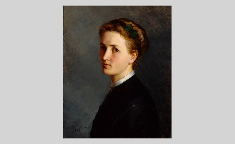 Ida Silfverberg, Self-Portrait, 1868, oil on canvas, 56.5cm x 46cm Finnish National Gallery / Ateneum Art Museum Photo: Finnish National Gallery /Kari Soinio