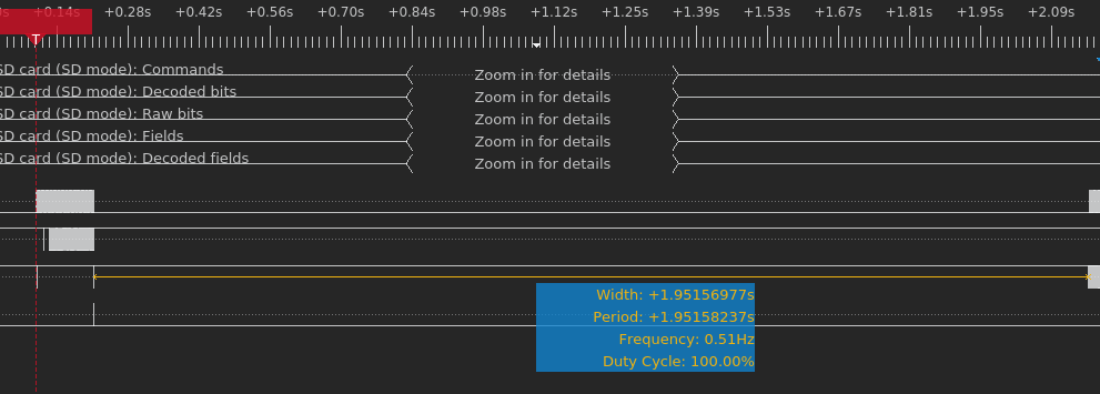 Logic analyzer capture demonstrating this 2s window (first preloader is valid)