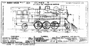Steam Lootive Diagrams  Class T Diagram 1913