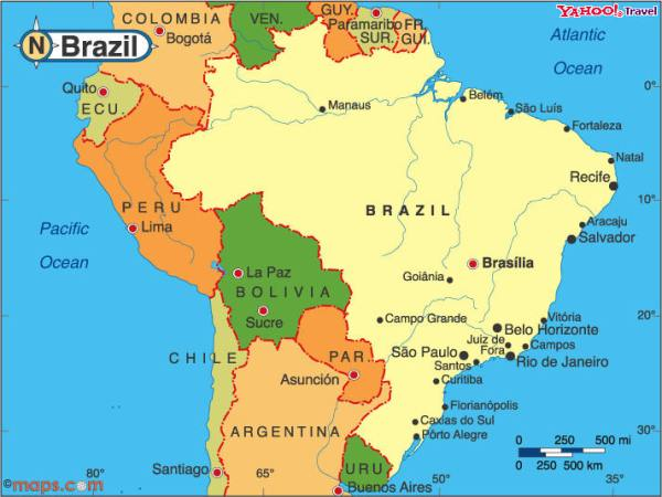 South America Brazil Ridgway Research