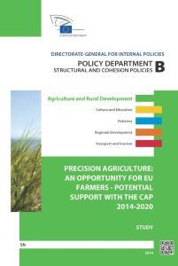 Precision Agriculture: An Opportunity for EU-Farmers – Potential Support with the CAP 2014-2020