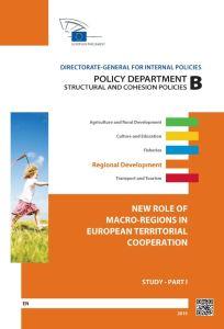 New Role of Macro-Regions in European Territorial Cooperation