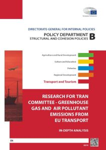 Greenhouse Gas and Air Pollutant Emissions from EU Transport