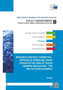 Options of Handling Choke Species in the View of the EU Landing Obligation – The Baltic Plaice Example