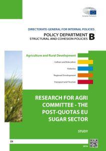 The Post-Quotas EU Sugar Sector